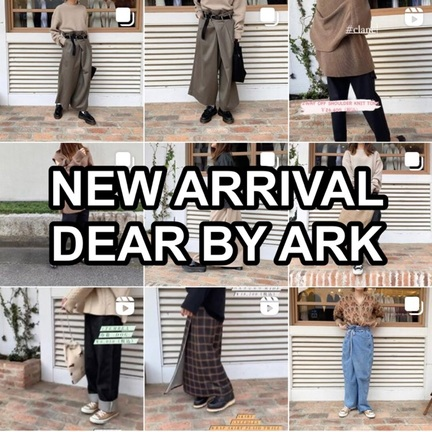 今週の新入荷アイテム!!DEAR BY ARK!!
