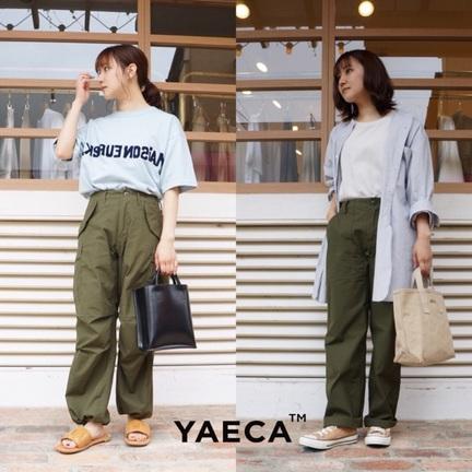YAECAのパンツどっち派ですか?