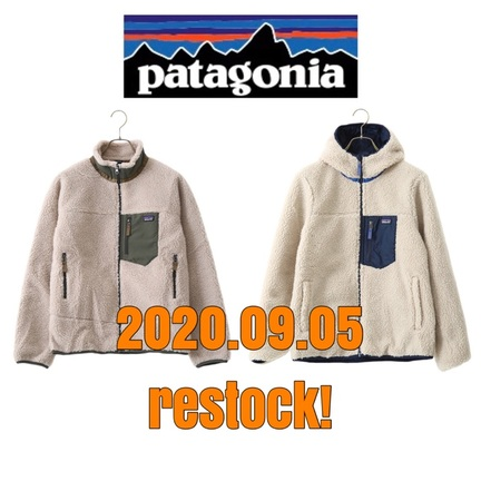 patagonia完売アイテム再入荷!!