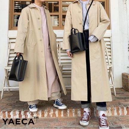 「YAECA」ステンカラーコートの季節がやってきました!