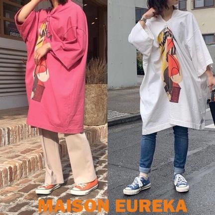 MAISON EUREKAの可愛いトップス入荷してます!
