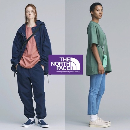 THE NORTH FACE PURPLE LABEL!