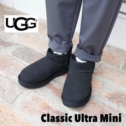 大好評UGGのClassic Ultra Mini!
