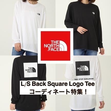 L/S Back Square Logo Teeコーディネート特集!
