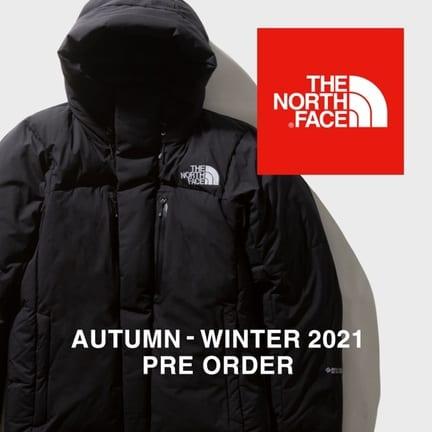 THE NORTH FACE 2021年秋冬シーズン先行予約のお知らせ