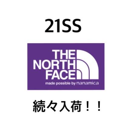 【TNFPPL】21SS続々入荷しております!