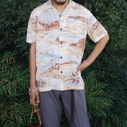 夏本番。RRLのアロハシャツ。