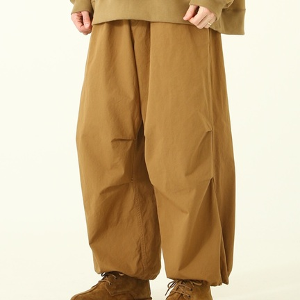 GOLD COTTON WEATHER OVER PANTS