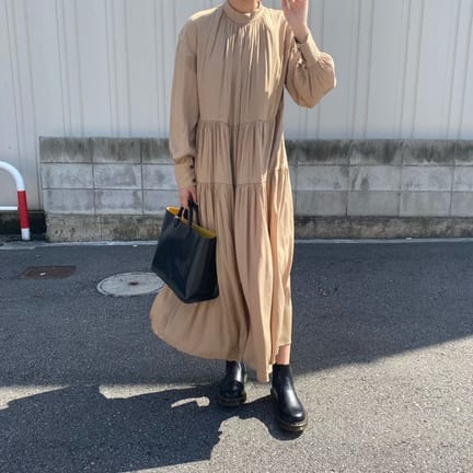 【CLANE】DOUBLE FACE LOOSE ONE PIECEのご紹介