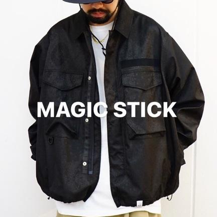 MAGIC STICK / 3LAYER COZY KIMONO BDU