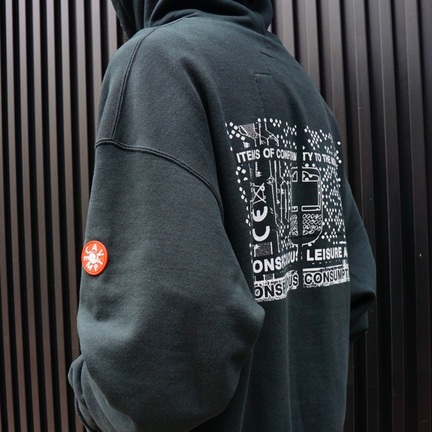 C.E / CONSUMPTION HEAVY HOODY