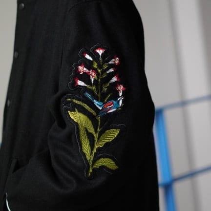 MAGIC STICK(マジックスティック) 贅沢なバーシティジャケット。