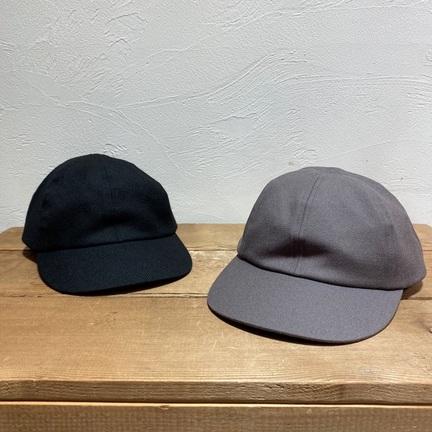 COMESANDGOES / WOOL TWILL CAP