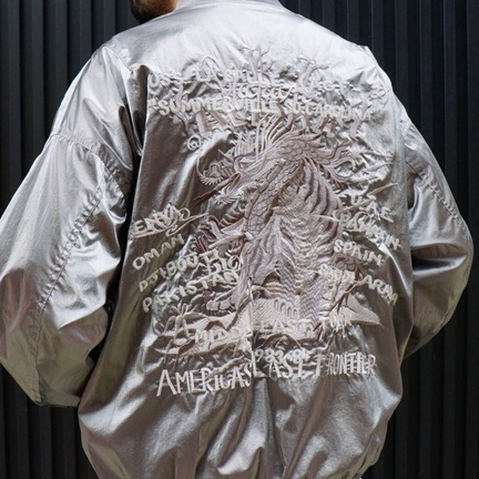 doublet / GRADATION CHAOS EMBROIDERY BLOUSON