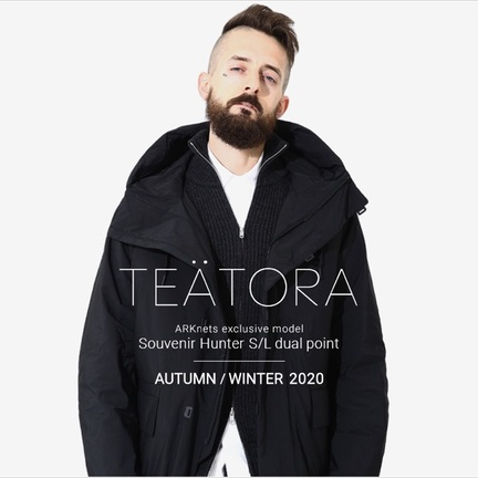 【TEATORA】【別注】Souvenir Hunter S/L dual point