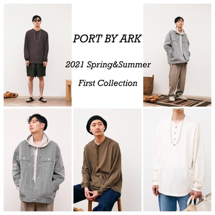 PORT BY ARK の新入荷!