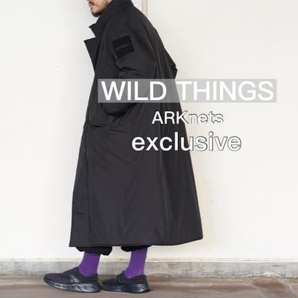 【WILD THINGS】ワイシンのロングな「モンスターパーカー」