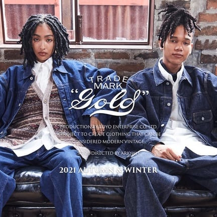 【GOLD】LOOK BOOK