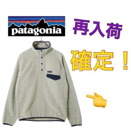 【patagonia】パタゴニアのフリース  シンチラが再入荷!