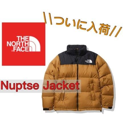 ノースフェイス ヌプシジャケット発売開始!