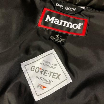 "Vainl Archive x Marmot ""PUFF JACKET"""