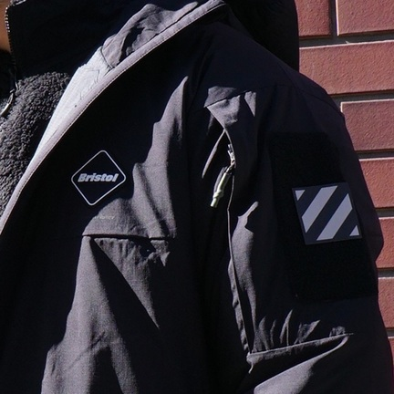 "FCRB ""HYBRID PUFFY INSLATION HOODED JACKET"""