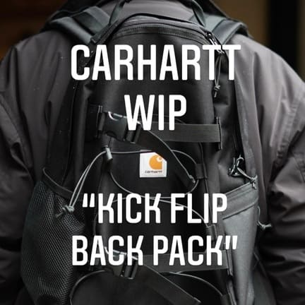 "Carhartt WIP(カーハートwip) ""Kick Flip Back Pack"""