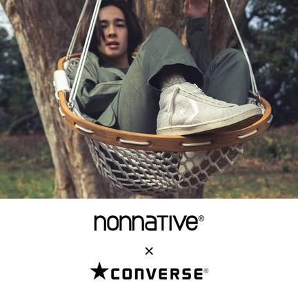 nonnative x Converse スペシャルシューズがリリース