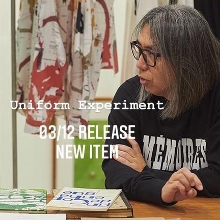 Uniform Experiment 03/12 新入荷アイテム