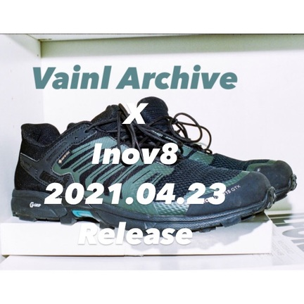 Vainl Archive x Inov8 2021.04.23 Release