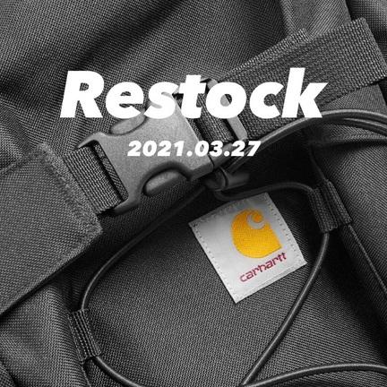 "Carhartt WIP ""KickFlip BackPack""待望のRe.Stock!!"