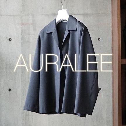 【AURALEE】WOOL SILK TOROPICAL SETUP