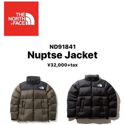 【TNF】ヌプシジャケット販売開始ッッ!!