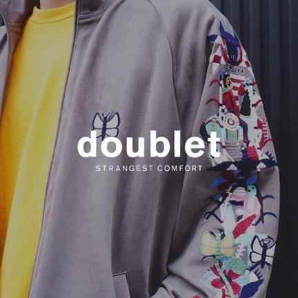 """今季の刺繍も""""ヤバい""""。【doublet】"""