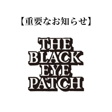 BlackEyePatchについて。