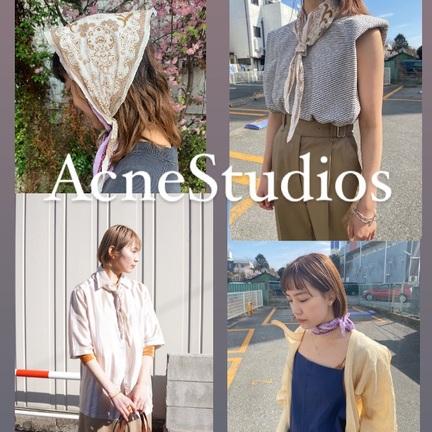 《AcneStudios》のスカーフはいかがですか?