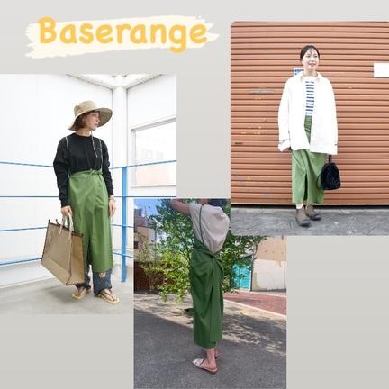 Baserangeのワンピースって着まわせます