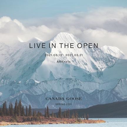 《 CANADA GOOSE 》2021SPコレクションの特別販売会