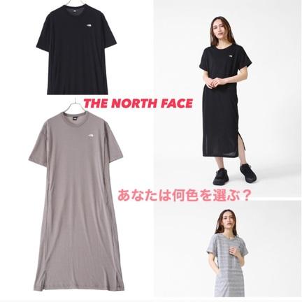 THE NORTH FACE のワンピース 何色を選ぶ?