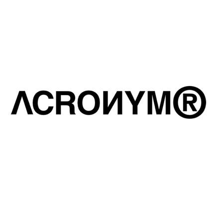 ACRONYM - 2020SS -