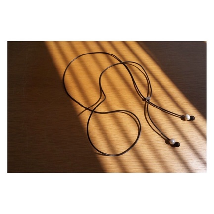 TheSoloist. - leather necklace.Type 4-