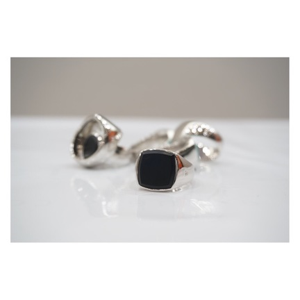 TOMWOOD - Onyx Ring -
