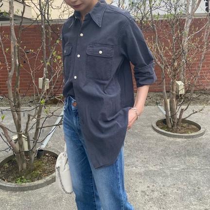 MADISONBLUE(マディソンブルー)バックサテンシャツの着こなし方