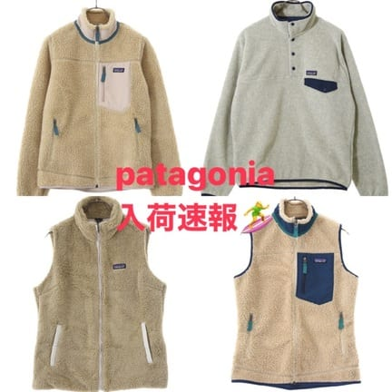 【21AW】patagonia-Synch Snap・W's Classic Retro販売開始!