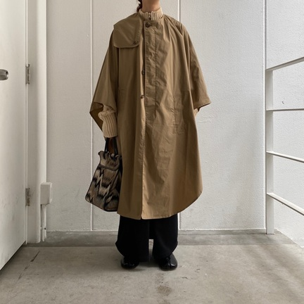 INSCRIRE[cloak trench coat]