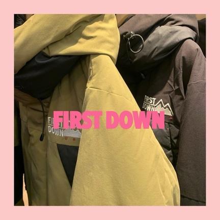 """おすすめダウン """" FIRSTDOWN """" のご紹介!!"""