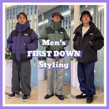 Men's FIRST DOWN Styling