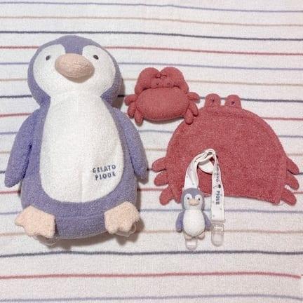 【BABY】夏らしいカニとペンギンシリーズ