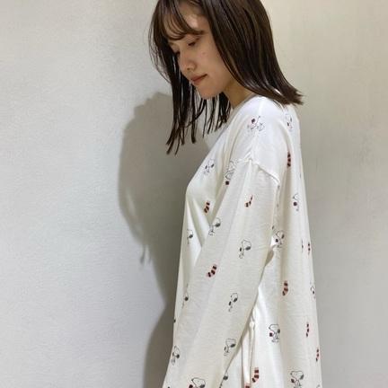 SNOOPYパジャマシャツシリーズ