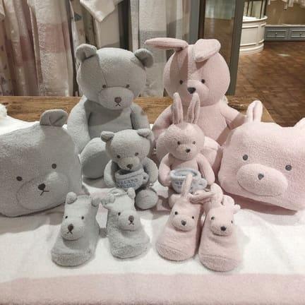 【Baby&Kids】うさぎとくまモチーフシリーズ